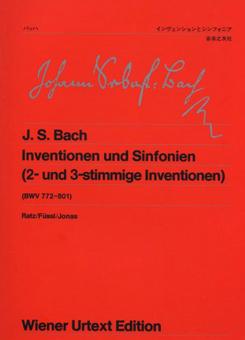 インヴェンションとシンフォニア ウィーン原典版/バッハ