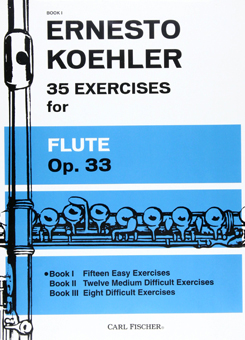 フルートのための35の練習曲/ケーラー