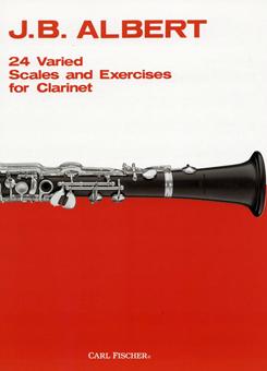 クラリネットのための24のスケールと練習曲/アルベール