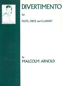 木管三重奏のためのディヴェルティメント/アーノルド