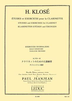 クラリネットのための日課練習/クローゼ/ジャンジャン
