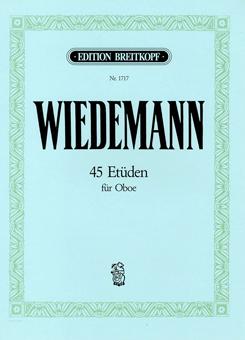 オーボエのための45の練習曲集/ヴィーデマン